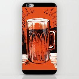 Beer_Orange iPhone Skin
