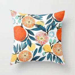 Fruit Shower Throw Pillow