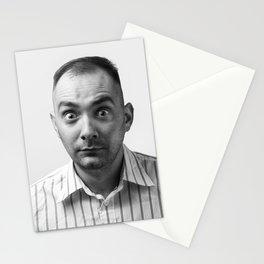 Crazy man Stationery Cards