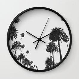 Palm Spring California, Palms Wall Clock