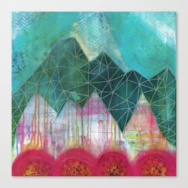 Mountain Winter Solstice Canvas Print