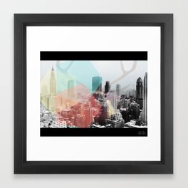 Hipster Horns. Framed Art Print