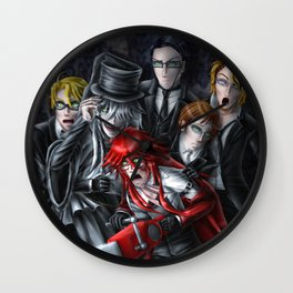 Haunted House Reapers Wall Clock