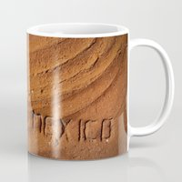 mexico Mugs featuring Mexico by Work to Win