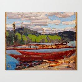 Tom Thomson - Boat Canvas Print