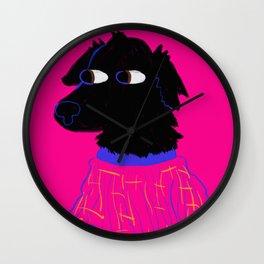 God's Most Beautiful Creature in Pajamas Wall Clock