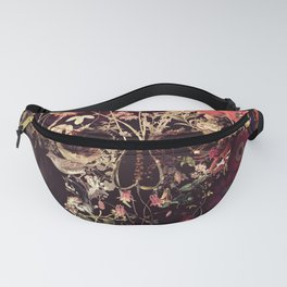 Bloom Skull Fanny Pack