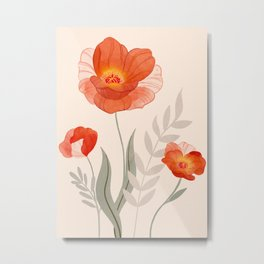 Summer Flowers II Metal Print