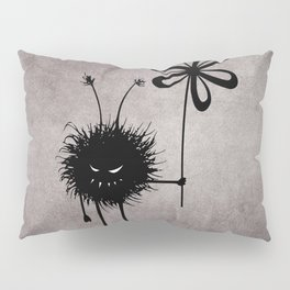Evil Flower Bug Pillow Sham