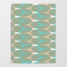 Soft pattern Poster