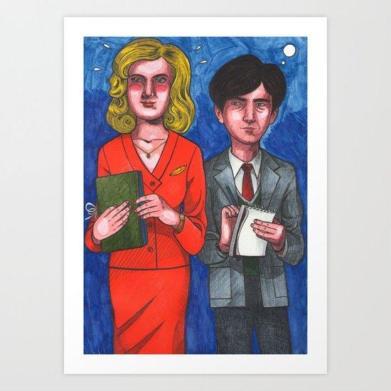 60 Minutes Art Print