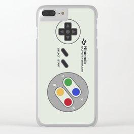 NINTENDO SUPER FAMICOM Clear iPhone Case