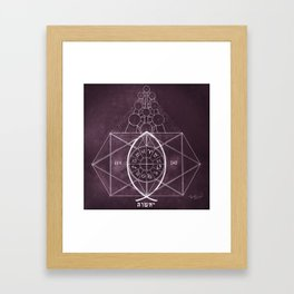 The Birth of Christ Framed Art Print