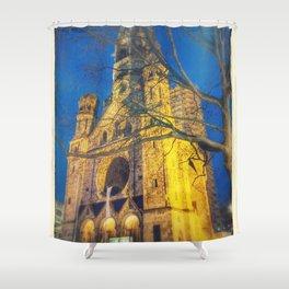 Memorial Church Shower Curtain