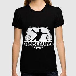 Pivot handball player jump shot muscle resin T-shirt