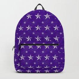 Stella Polaris Violet Design Backpack