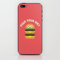 Discounting Calories iPhone & iPod Skin