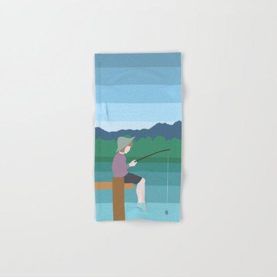 FISHING Hand & Bath Towel