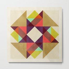 Quilt Block #02 Metal Print