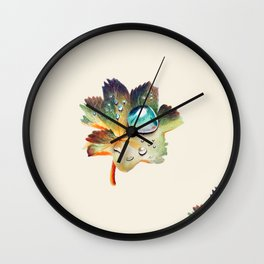 Dropplet of dew Wall Clock
