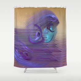 Wave on Fantasia / Beach Dreaming Shower Curtain