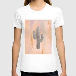 Desert Sunset with Cactus v.1 T-shirt