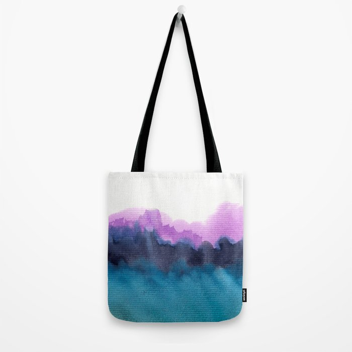 Watercolor abstract landscape 13 Tote Bag