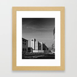 (Almost) Lighthouse Framed Art Print