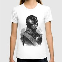 wrestling T-shirts featuring Wrestling mask 2 by DIVIDUS