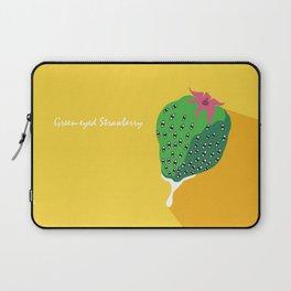 Greeneyed Strawberry Laptop Sleeve