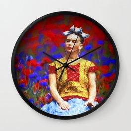 FRIDA dreaming away Wall Clock