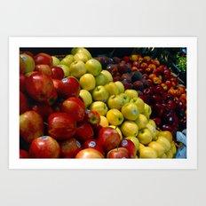 Farmer's Market Art Print