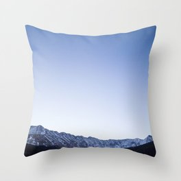 Daylight Moon Ridge Throw Pillow