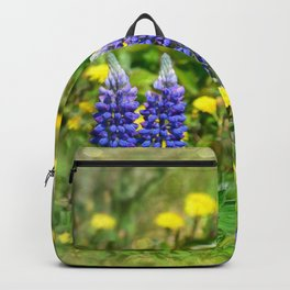 Serenity_Prayer - Spring Flowers Backpack