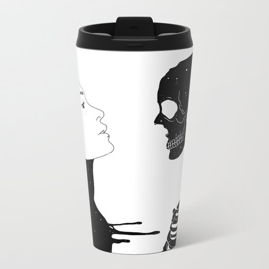 Lost in Existence (Wherever You Are) Metal Travel Mug