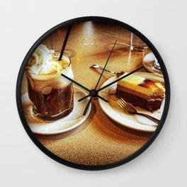 Sabor a chocolate Wall Clock