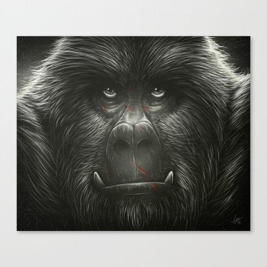 Kong Canvas Print