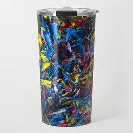 Crayon Shavings Travel Mug
