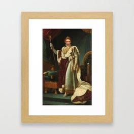 The Dark Lord Framed Art Print