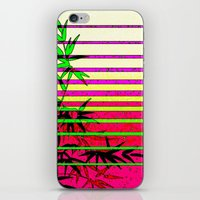 bamboo iPhone & iPod Skins featuring Bamboo by Mr and Mrs Quirynen