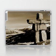 Whistler inukshuk Laptop & iPad Skin