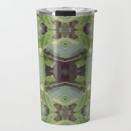 Almond Tree Pattern Travel Mug