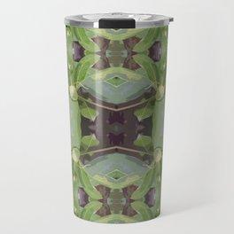Almond Tree Pattern Travel Mug