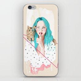 Shhh... iPhone Skin
