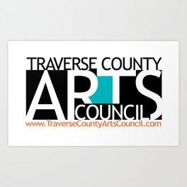 Fundraiser:  Traverse County Arts Council Art Print