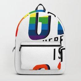 Is It Gay Pride LGBT - Rainbow Pride Backpack