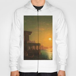 Constantinople Sunset by Ivan Aivazovsky Hoody