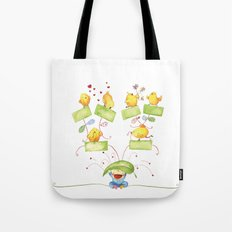 Baby family tree Tote Bag