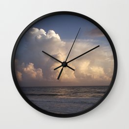 Sunset Party Wall Clock