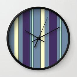 Zen Curtains Wall Clock